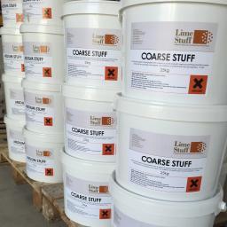 Non Hydraulic Lime Render and Mortar - Coarse Stuff