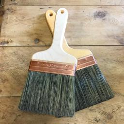 Limewash brushes available to buy separately