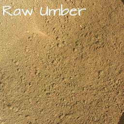 Raw Umber Pigment