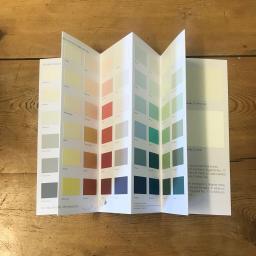 Earthborn claypaint colourcard