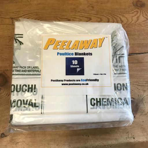 Pack of 10 Peelaway 7 Blankets