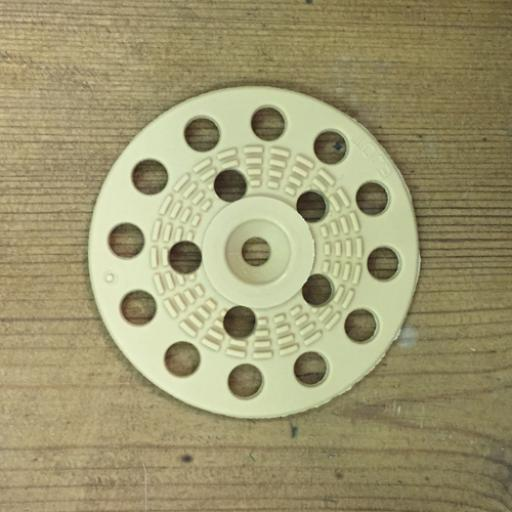 Washers for woodwool board