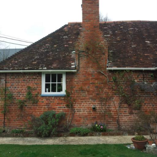 Repointing in Oatmeal Lime Mortar