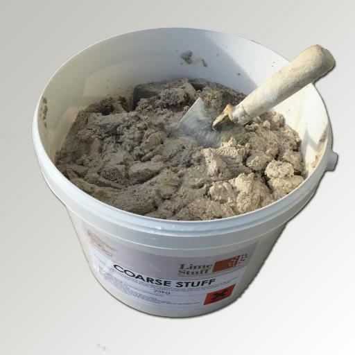 Non Hydraulic Lime Render and Mortar - Coarse Stuff