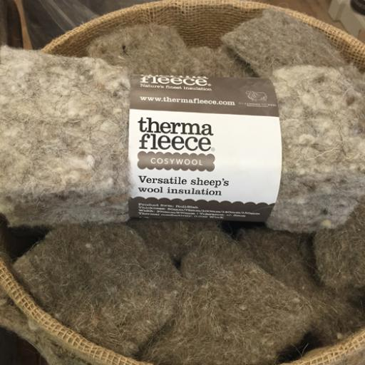 Sample pack of Thermafleece CosyWool Insulation