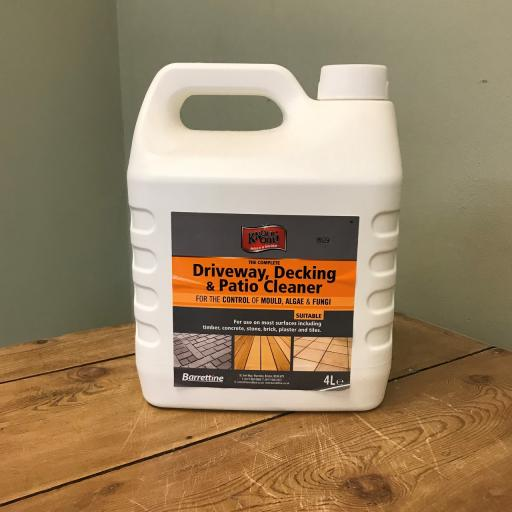 Knockout - Driveway, Decking and Patio Cleaner 4ltr