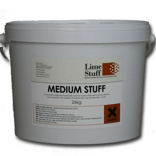Non Hydraulic Lime Putty Plaster (Medium Stuff)