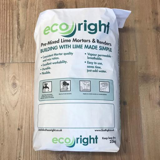 Eco Right Moderate Mortar - Hydraulic