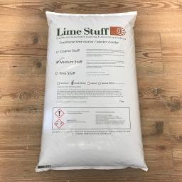 Non Hydraulic Lime Plaster - Medium Stuff