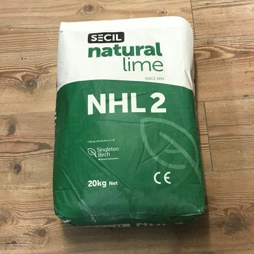Secil Natural Hydraulic Lime NHL2