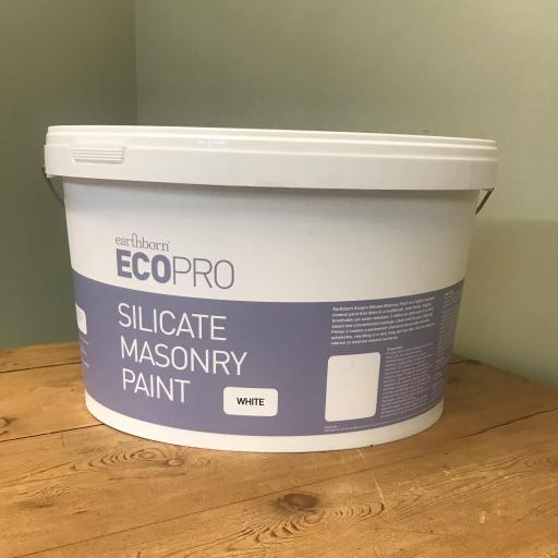 Earthborn Eco Pro Silicate Masonry Paint - White 10L
