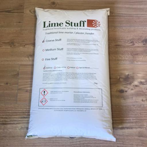 Non Hydraulic Lime Plaster - Coarse Stuff