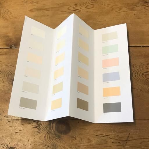 Earthborn Exterior Silicate Paint Colourcard