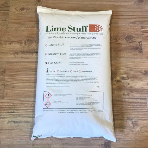 Fine Stuff - Lime putty top coat plaster