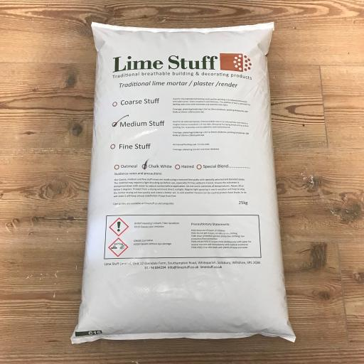Medium Stuff - Lime Putty Plaster