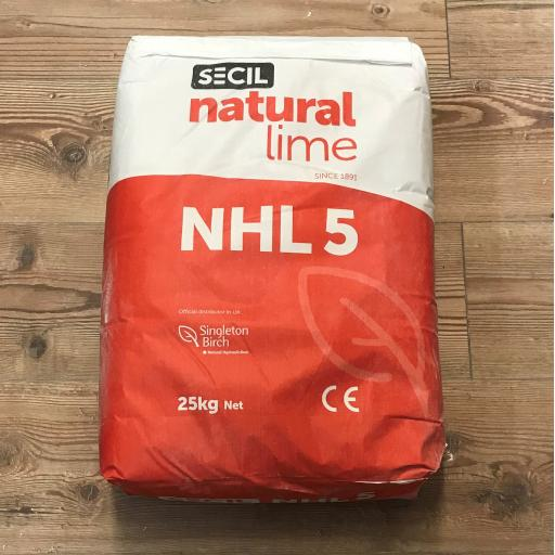 Secil Natural Hydraulic Lime NHL5