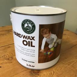 Fiddes Hard Wax Oil - Clear Satin