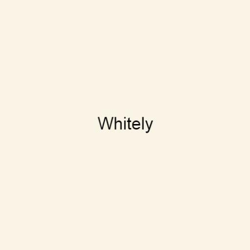 Brouns & Co Linseed Paint - Whitely