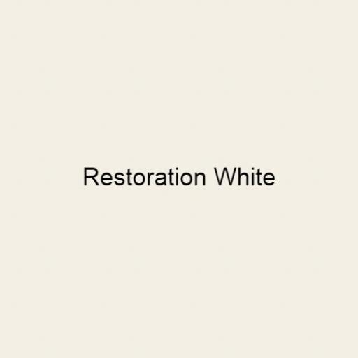 Brouns & Co Linseed Paint - Restoration White