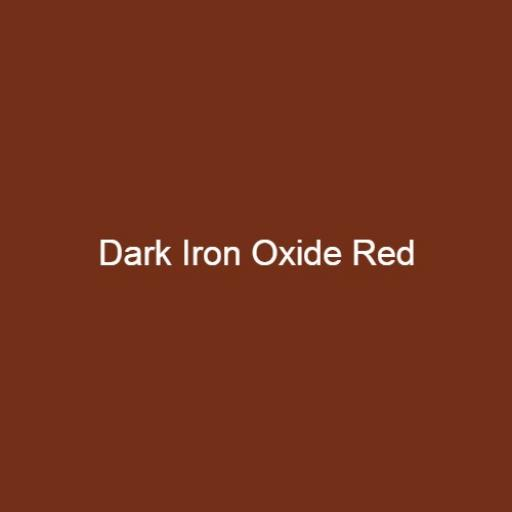Brouns & Co Linseed Paint - Dark Iron Oxide Red