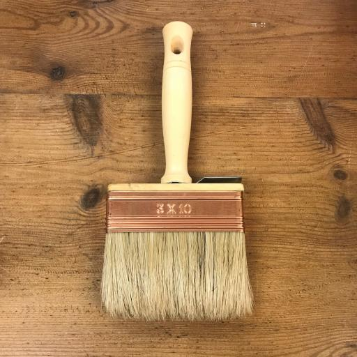 Wooden Limewash Block Brush