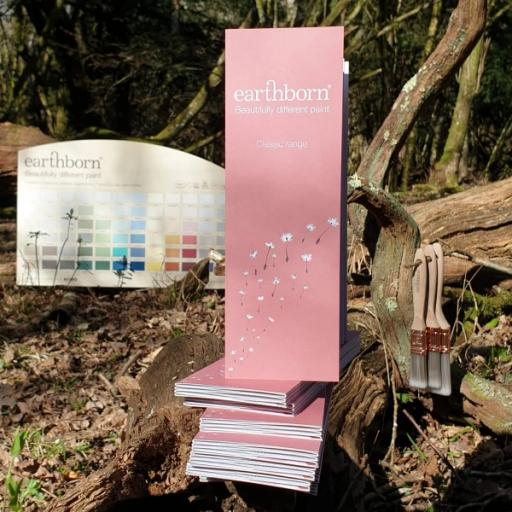Earthborn Interior Claypaint Colourcard
